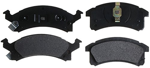 ACDelco 14D506M Advantage Semi-Metallic Front Disc Brake Pad Set with Wear Sensor (Brake Pads Chevy Cavalier)