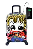 TOKYOTO - Maleta de Cabina Equipaje Infantil Niños Joker, 55x40x20 cm | Maleta Juvenil, Trolley de Viaje Ryanair,...