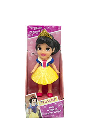 Jakks Pacific- Muñeca Princesa Disney-Blanca Nieves Action Figure, Multicolore, 7,5 cm, 39897846330
