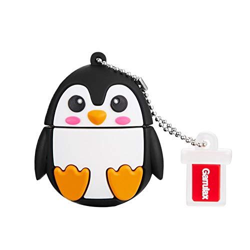 Garrulax Memoria USB, Pendive USB 2.0, Premium Impermeable Cute Animal Silicona 8GB...