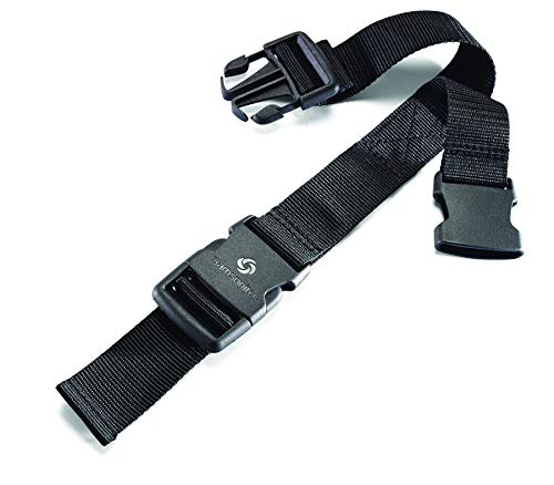 Samsonite Add a Bag Strap, Black, International Carry-on (Model: 53597-1041)