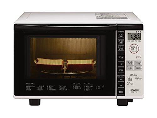日立 オーブンレンジ 18L ターンテーブル オートメニュー ダイレクトキー操作 MRO-TT5 W ホワイト