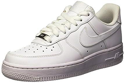 Nike Air Force 1 '07, Zapatillas Mujer, Blanco (White/White 112), 38.5 EU