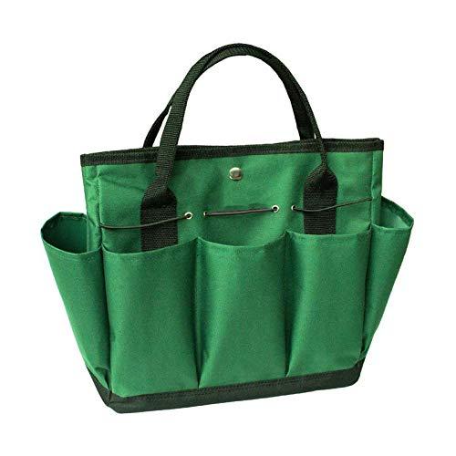 YuuHeeER Bolsa de almacenamiento plegable para ropa interior, bolsa de almacenamiento de herramientas de jardinería, organizador de plantas de jardín Oxford