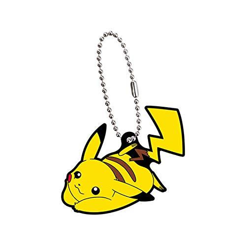 Nintendo Pokemon Rubber Mascot Swing Keychain Alola~Pikachu