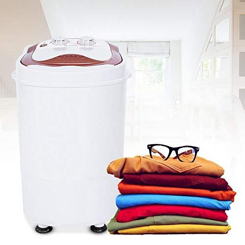 GOTOTO Mini Lavatrice Lavatrice Portatile Lavatrice da Campeggio con Timer, Caricamento dall'alto, Lavatrice salvaspazio per Single, Studenti e Camper, Basso consumo di Acqua e energia, 6kg