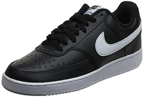 Nike Court Vision Low, Sneakers Basses Homme, Noir (Black/White-Photon Dust 100), 43 EU