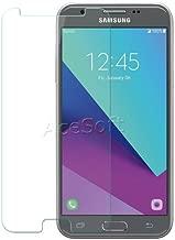 [Galaxy J3 Prime Screen Protector] Premium Anti-Scratch Anti-Bubble Tempered Glass Screen Protector for Samsung Galaxy J3 Prime SM-J327T1 J327T1 MetroPCS Phone