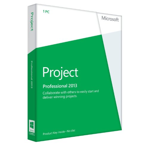 Microsoft Project Professional 2013 - Licence Card - 1 User [import anglais]