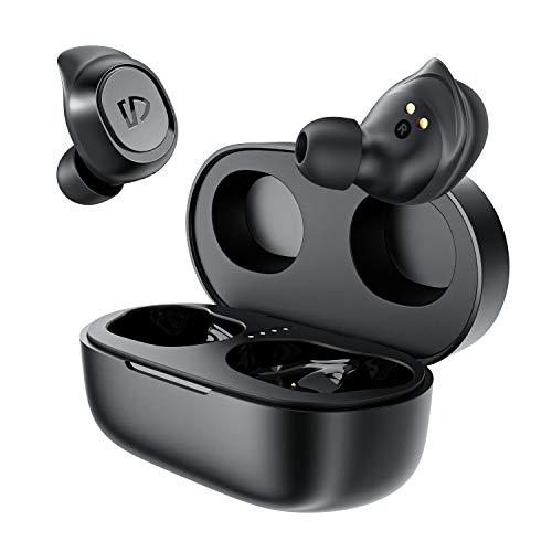 SOUNDPEATS Truefree 2 ワイヤレスイヤホン IPX7防水 良きフィット感 長時間再生 充電対応 高音質 低遅延 スポーツイヤホン Type-C サウンドピーツ 完全ワイヤレス イヤホン クリア通話 Bluetooth イヤホン カナル型イヤホン Zoom ミーティング テレワーク Bluetooth5.0 ブルートゥース ヘッドホン [正規メーカー1年保証] ブラウン
