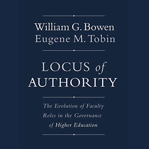 Locus of Authority audiobook cover art