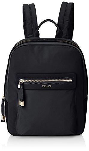 TOUS 695810087, Bolso mochila para Mujer, Negro (Negro), 26x33x9.5 cm (W x H x L)