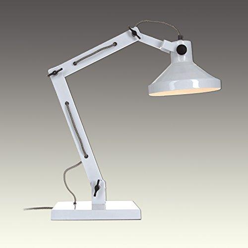 Impressionen Tischleuchte Tischlampe Lampe Leuchte Licht weiß/schwarz 7435363