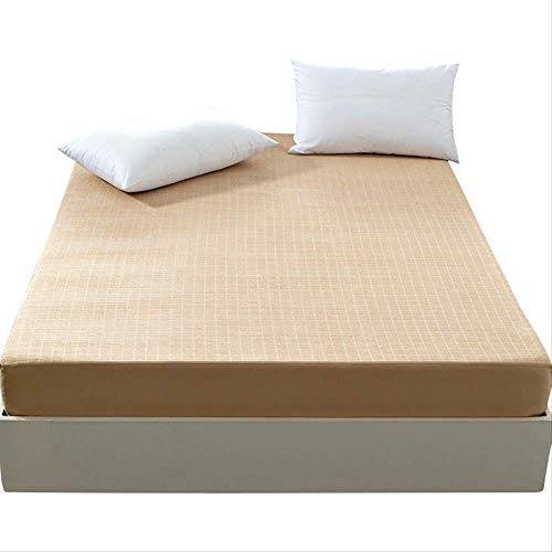 qwqe Cotton Sheet Bed cover bed cover cover dust cover single cotton all-inclusive sheets 180 x 200cm.