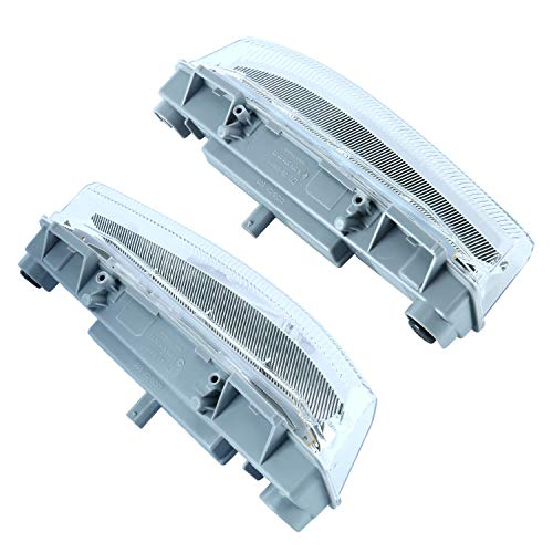 Pair of Fog Lamp LED Daytime Running Lamp Fog Light Compatible with 2007-2015 Mercedes Benz C Class W204 C250 C300 C350 E Class W212 E350