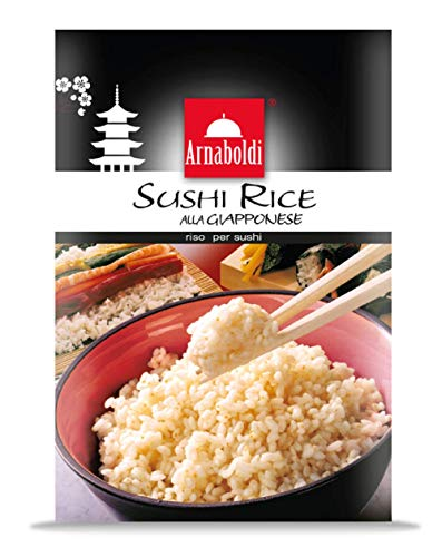 Arnaboldi Riso per Sushi alla Giapponese, Sushi Rice [12 Confezioni da 500g]