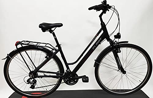 CLOOT Bicicleta Hibrida Adventure 7.2 con Cambio SUNRUN de 21V y suspensión Delantera.(Valida de 1.60 a 1.80)