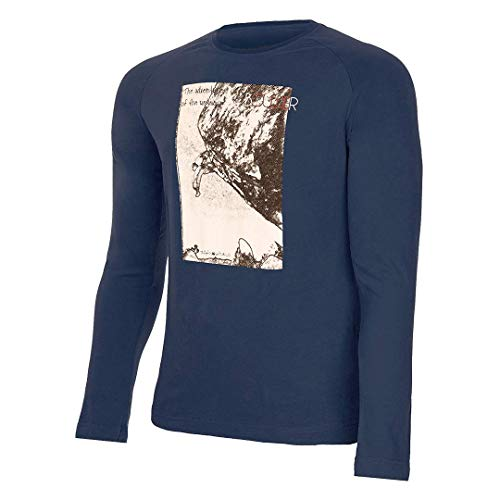 Trangoworld Rhon T-Shirt Homme, Bleu foncé, XXL