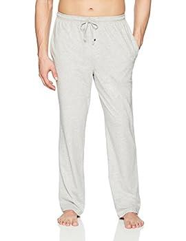 Amazon Essentials Men s Knit Pajama Pant Light Grey Heather Medium