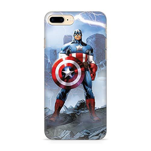 Ert Group MPCCAPAM719 Custodia per Cellulare Marvel Captain America 003 iPhone 7 PLUS/ 8 PLUS