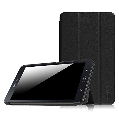 FINTIE Custodia per Samsung Galaxy Tab A 7.0 - Ultra Sottile Leggero Case Protettiva Cover per Samsung Galaxy Tab A6 7.0  Pollici SM-T280   SM-T285 2016 Tablet, Nero