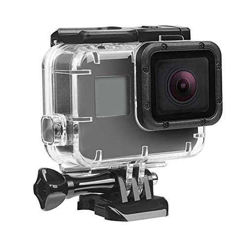 DAXINIU 45m bajo el Agua Impermeable de la Caja for GoPro héroe 7 6 5 4 3 + Negro cámara de la acción Protectora de la Caja de Accesorios Accesorios de la cámara (Colour : Transparent)