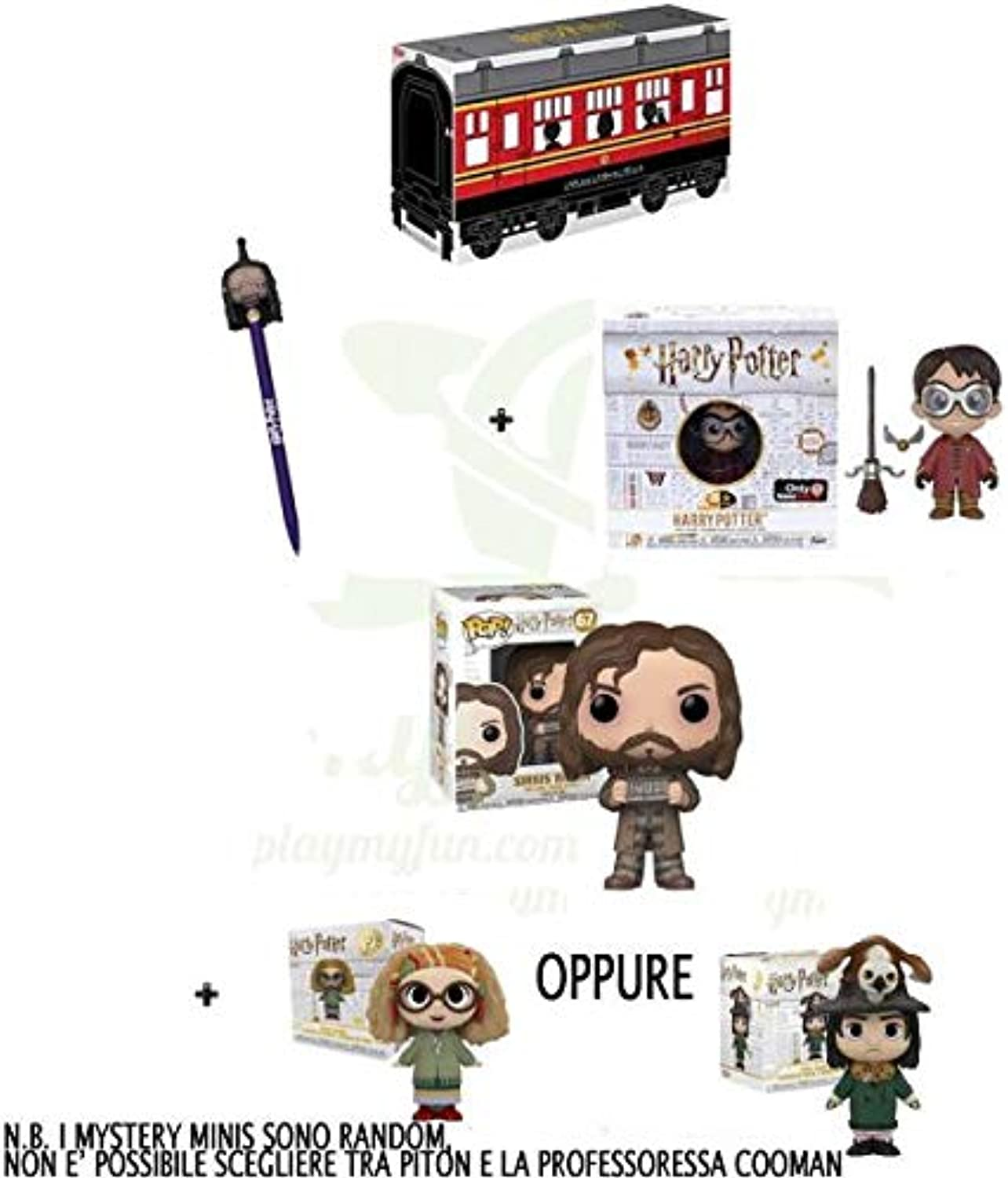Harry Potter Kit Box Funko Pop Sirius Black 67 Normal Version Cinema Figure  1