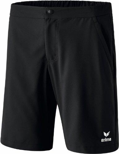 Erima Casual Basics Short de Tennis Homme, Noir, FR : M (Taille Fabricant : M)