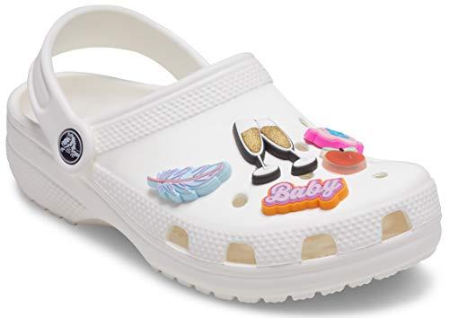 Crocs Hype Girlie 5 Pack, Encantos para zapatos Unisex Adulto, multicolor, Talla única