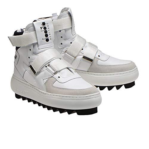 Diadora Heritage Schuh-Sneaker-Unisex-MI-Basketball-H Cyberpunk-W Weiß - 38 1/2