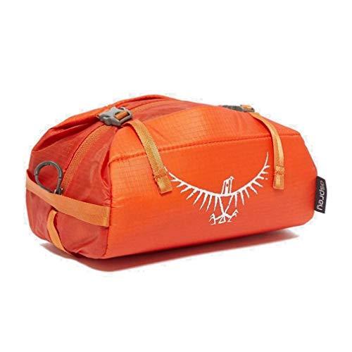 Osprey Orange Ultralight Washbag Padded Travel Accessory Orange One Size