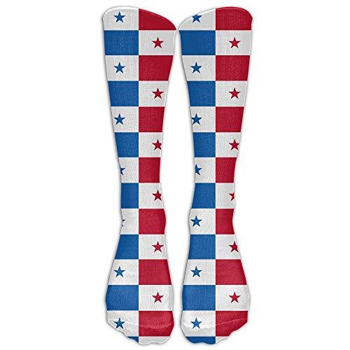 Calcetines Casuales Con Patrón De Bandera De Panamá Para Hombre