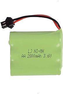 Krachtige batterij backup 3.6 v 2800 mah NiMH Batterij voor Rc Speelgoed Auto Tanks Treinen Robot Boot Pistool Ni-Mh AA 24...