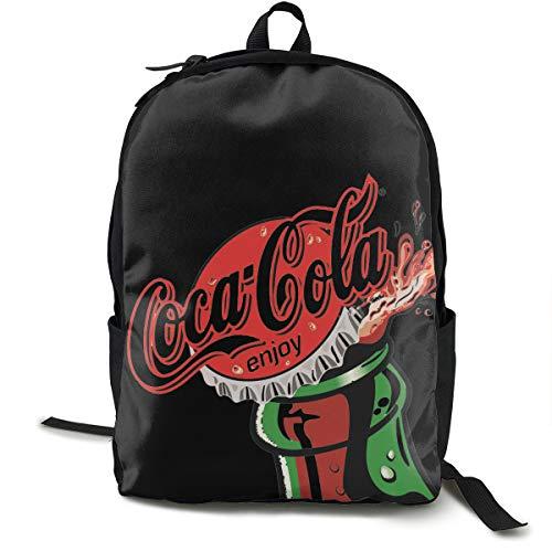 Diet Coke - Mochila para escuela, trabajo y universidad, con compartimento para portátil y acolchado en la espalda