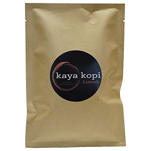 Premium Kopi Luwak From Indonesia Wild Palm Civets Arabica Coffee Beans (50 Grams)