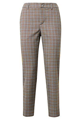 TOM TAILOR Denim Pantalones chinos para mujer Nena & Larissa: Cigarette Slim Fit Color gris y amarillo. L