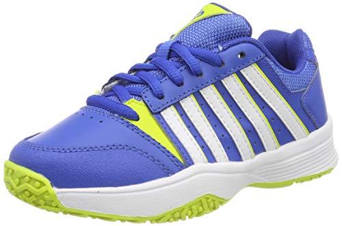 K-Swiss Performance KS Tfw Court Smash Omni, Zapatillas de Tenis Unisex Niños, Azul (Strong Blue/Neon Citron 48), 28.5 EU