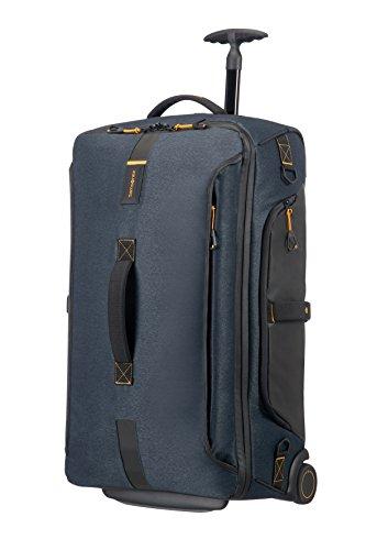 Samsonite Paradiver Light Bolsa de Viaje con Ruedas, M (67Cm-74,5L), Jeans Azul