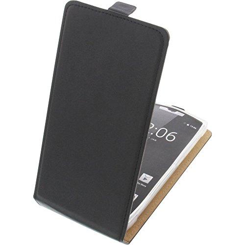 foto-kontor Tasche für Oukitel K10000 Pro Smartphone Flipstyle Schutz Hülle schwarz