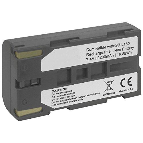 Batería 2200mAh para Samsung SB-L160 / SC-L860, L870, L901, L907, W87, W97. / VP-L520, L530, L800, W70, W80. - Ver Lista!