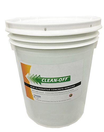 CLEAN-OFF Liquid Concrete Remover 5 Gallon