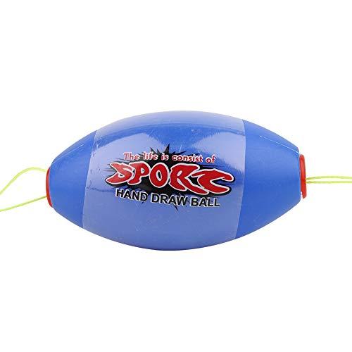 Eulbevoli Juguete de Bola de lanzadera, Juguete de Bola de Velocidad de Bola de Velocidad Enorme con cooperativa de Dos Personas para Exteriores(Azul)