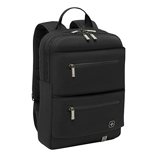 Wenger 605076 CITYMOVE 14' Backpack with lockable zippers In Black {12 Litres}