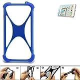 K-S-Trade® Handyhülle Für Alcatel A7 XL Silikon Schutz