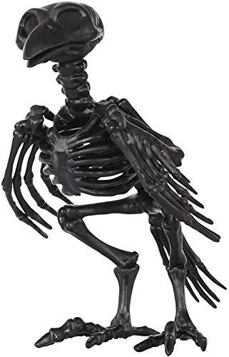 YWAWJ Decoración de Halloween Esqueleto de Animal de la fantasía del Cuervo del Cuervo deshuesar el Esqueleto de Animal decoración de Halloween Esqueleto decoración de la Barra Prop Modelo