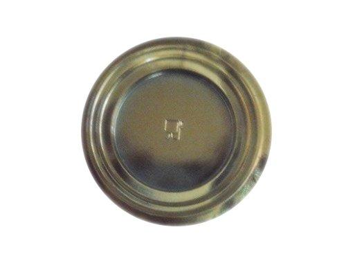 Lot de 50 assiettes Soucoupe ronde plateau Disco Gold 7 cm Idéal pour mignon pâtisseries portions individuelles Pâtes Pour alimentaire