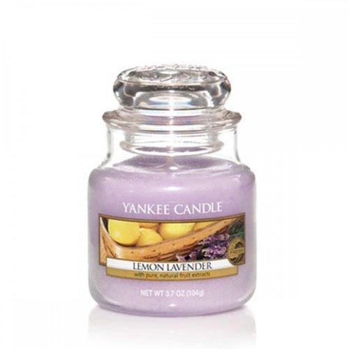 YANKEE CANDLE Duftkerze im Glas 'Lemon Lavender', 104 g