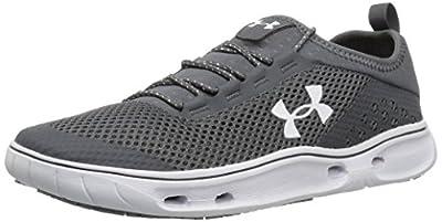 Under Armour Women's Kilchis Sneaker, Rhino Gray (076)/White, 10