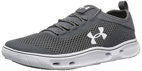 Under Armour Women's Kilchis Sneaker, Rhino Gray (076)/White, 11