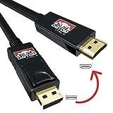 DisplayPort to HDMI 4K Black 10FT